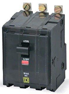 Square D QOB315 3 Pole 15Amp 240V Circuit Breaker BOLT-IN