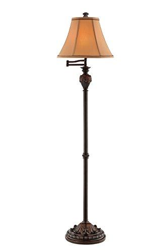 """Stein World 99843 Edgeworth Resin Floor Lamp, 60.5"""" x 15"""" x 15"""", Bronze from Stein World"""
