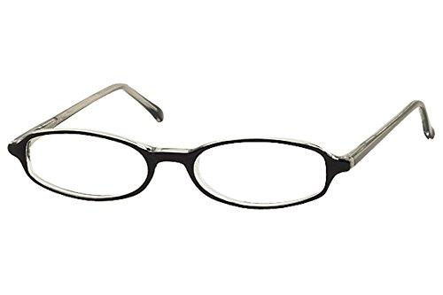 Bocci Women's Eyeglasses 227 01 Black Crystal Full Rim Optical Frame 46mm ()