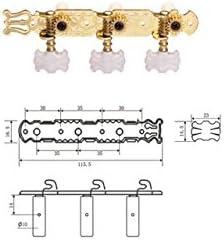 Clavijeros Clavijeros Dorados Guitarra Clásica dr Parts Cmh0351 ...