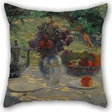 Alphadecor Pillowcase Of Oil Painting Ernesto De La CÃRcova - Naturaleza En Silencio 16 X 16 Inches / 40 By 40 Cm,best Fit For Teens Girls,chair,adults,sofa,divan,christmas Both - The Puppy Kill T Don