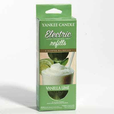 Yankee Candle Vanilla Lime Electric Home Fragrance Refill