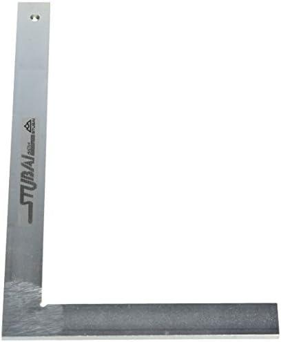 300 mm Argent Stubai 263005 Equerre de serrurier sans but/ée