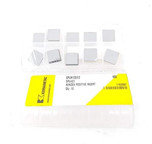 Kennametal 120312 423 Hartmetall-Einsätze K68 Frässpitzen #VB5, 10 Stück