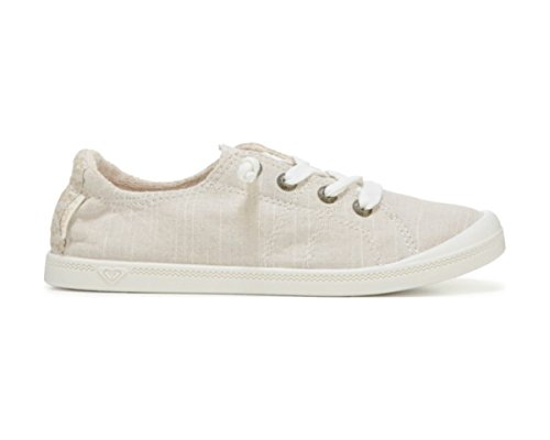 Roxy Womens Bayshore Lace Up Shoes ARJS600406 Vanilla/Brown pCXyRbq