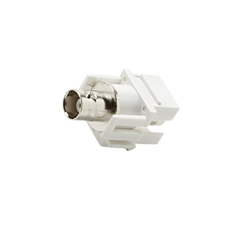 Module Keystone Bnc (C&E CNE442759 Keystone BNC Jack Adapter, White)