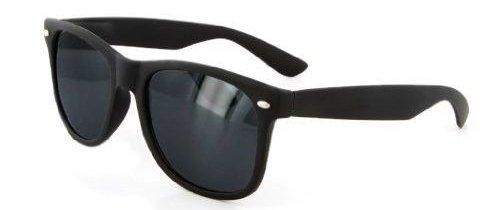 d0fead98b9bd6 Rubberized Modified Wayfarer Sunglasses (Matte-Black Smoke)  Amazon.co.uk   Clothing