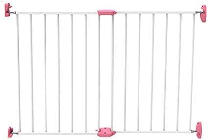Zfggd Barrera para Niños Puerta De La Escalera Puerta para Mascotas Portátil Divisor De Habitación Niño Barrera para Niños Expansible, Longitud 65-100cm (Color : Pink): Amazon.es: Hogar