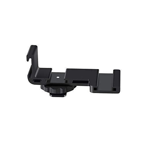 Ordro Vlogging Microphone Stand Extension Outrigger Bar Plate with Cold Shoe Mount for Sony Canon Nikon DSLR Camera Camcorder Vloggers Photographers