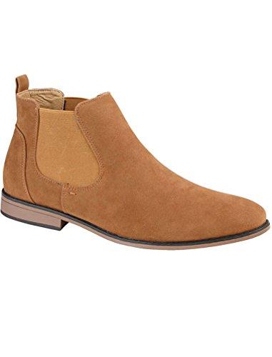 Footwear Unisex donna Tan Chelsea uomo Ragazzi adulti Stivali Foster AwadCxqw
