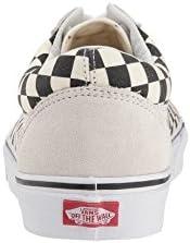 Vans Old Skool Pro Chaussures, Noir (Blanc/noir (damier).), 8 Women/6.5 Men