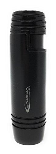 Vector Deco Single Torch Lighter - Black Matte -