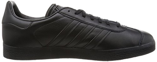 adidas Gazelle, Zapatillas Unisex Adulto Negro (Core Black/Core Black/Gold Metallic)