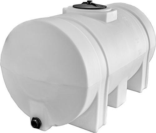 RomoTech Horizontal with Legs Polyethylene Reservoir, 65 Gallon