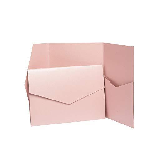 Vieux rose Nacr/é faire-part invitations 185/Mmx130/mm /à partir de faire-part invitations Ltd rose