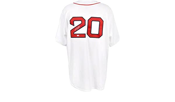 Kevin Youkilis Signed Mounted Memories Red Sox Jersey-Replica at Amazon s  Sports Collectibles Store cea36f647a3
