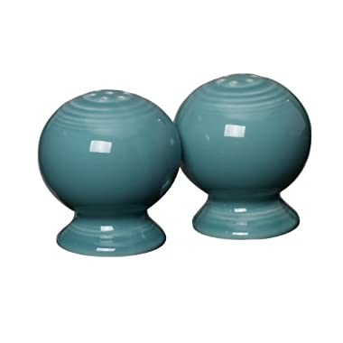 Fiesta 2-1/4-Inch Salt and Pepper Set, Turquoise