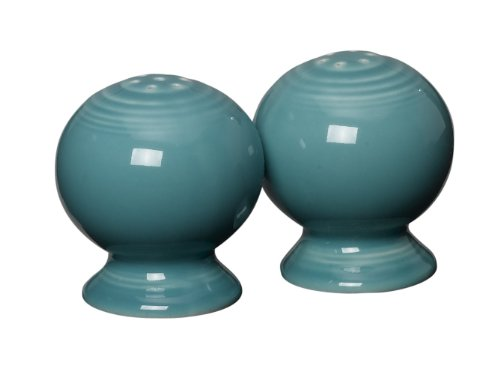 - Fiesta 2-1/4-Inch Salt and Pepper Set, Turquoise