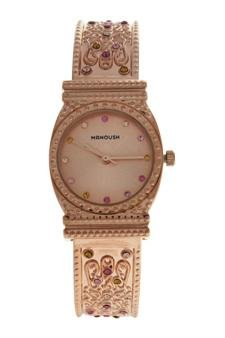 Manoush Mshmirg Mizuna - Rose Gold Stainless Steel Bracelet Watch Watch For Women 1 Pc by Manoush