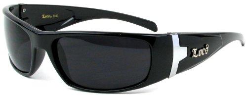 Authentic LOCS 30 Black OG Gangsta Rapper - Authentic Sunglasses Locs