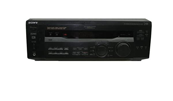 Amazon.com: Sony STR-SE501 FM/AM Stereo Audio Receiver (Discontinued): Home Audio & Theater