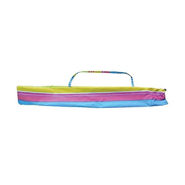 Ombrellone da spiaggia in policotone diam. 200cm, ombrellone mare portatile con custodia con tracolla, ombrellone… 4 spesavip