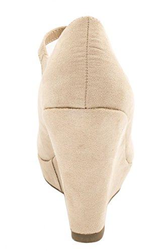 Elara - Cierre En T Mujer Beige - beige