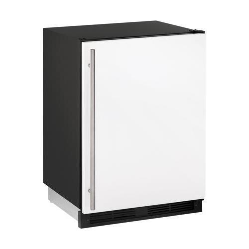 U-line White Refrigerator - U-Line U1224RW00B 5.2 cu. ft. Compact Refrigerator, White