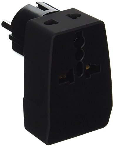 Ceptics GP4-9 2 USB Schuko Travel Adapter 4 in 1 Power Plug (Type E/F) - Universal Socket by Ceptics (Image #2)