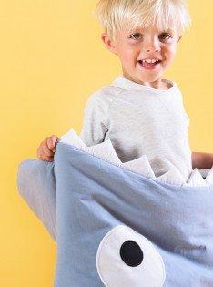 Baby Bites – Pizarra farbener Kids de saco de dormir – Saco de dormir para niños