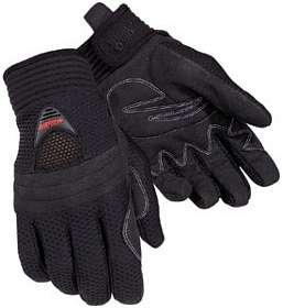 Tourmaster Mens Airflow Motorcycle Gloves Black Medium M