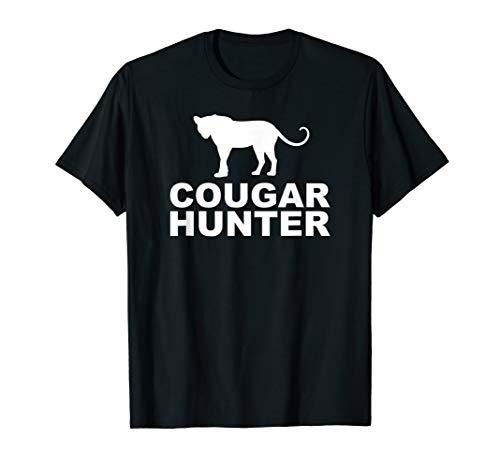 Mens Cougar Hunter Funny Mens Tee Shirt -