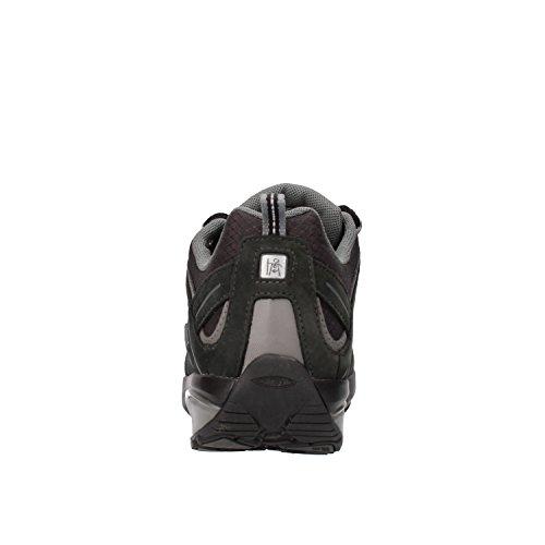 MBT Sneakers Uomo Nero Tessuto Nabuk