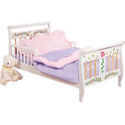 Pink/Lavender Toddler Bedding