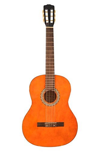 Directly Cheap 6 String Classical Guitar, Right Handed (GF201-CLA+Lessons)