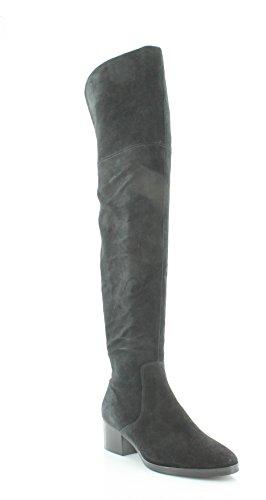 Via Spiga Women's Ophira Over-The-Knee Boot, Black, 6.5 M US by Via Spiga