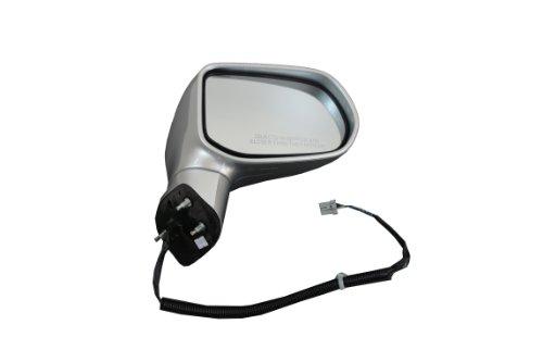 Genuine Honda Parts 76200-SNE-A02ZE Honda Civic/Civic NGV Right Side Alabaster Silver Metallic Door Mirror - Alabaster Mirror