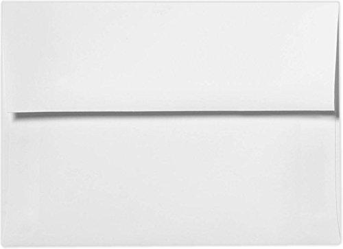 A2 Invitation Envelopes w/Peel & Press (4 3/8 x 5 3/4) - 80lb. White (50 Qty.)
