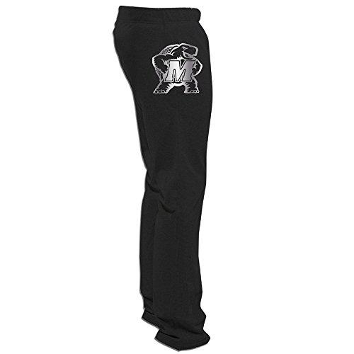 - Maryland Terrapins Platinum Logo Men's Sweatpants Black