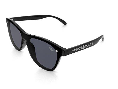 HARLEM de plana lente Unisex Gafas MOSCA NEGRA modelo 8qvw6