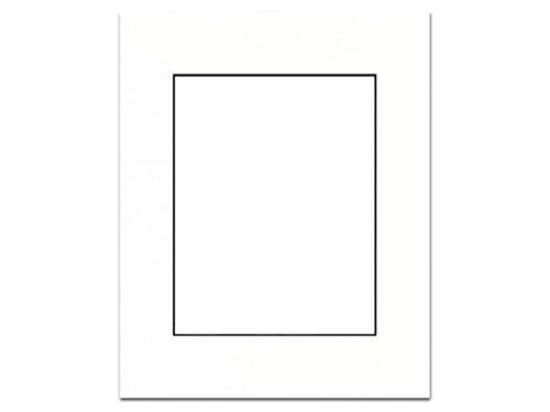 Accent Design Framing Mats ADF93714 Adf Mat 16 x 20/11 x 14 Black Core (16x20 Single Mats)