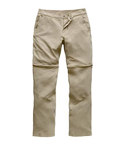The North Face Women's Paramount Convertible Pant, Dune Beige, Size 8 Long (Face Women Ski Pants Long North)