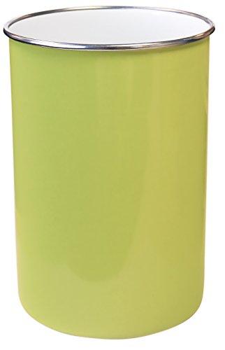 Reston Lloyd 82901 Calypso Basics by Enamel on Steel Utensil Holder, Lime, Standard