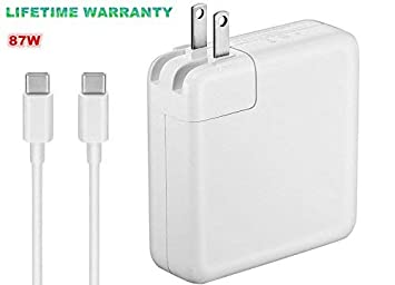 Amazon.com: Cargador para MacBook/MacBook Pro, USB-C 29 W/61 ...