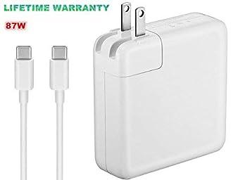 Amazon.com: Cargador para MacBook/MacBook Pro, USB-C 29 W/61 ...