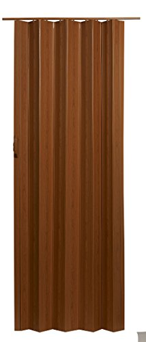 LTL Home Products VS3280FL Via Accordion Folding Door, 24-36 x 80 Inches, Fruitwood