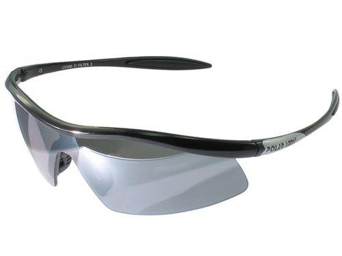 POLARLENS SERIES S23-02 Sonnenbrille / Skibrille / Radbrille + Gürteltasche + Pflege-Set
