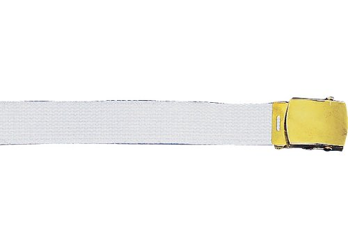 Amazon.com  Army Camouflage Solid Color Military Web Belt (White ... b465200e664