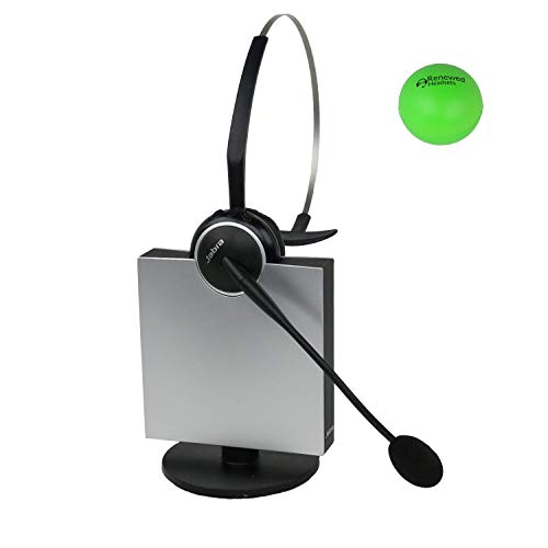 Jabra GN9125 Single Speaker Wireless Headset with Renewed Headsets Stress Ball (Renewed) ()