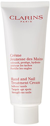 Clarins Hand And Nail Treatment Cream (Softens Hands. Minimizes Age Spots. Strengthens (100ml Hand Cream)
